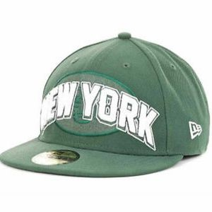 New York Jets New Era NFL Fitted Hat 7 1/4""